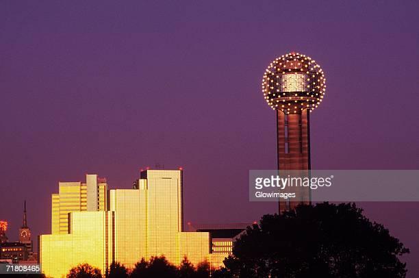 Buildings in a city, Dallas, Texas, USA