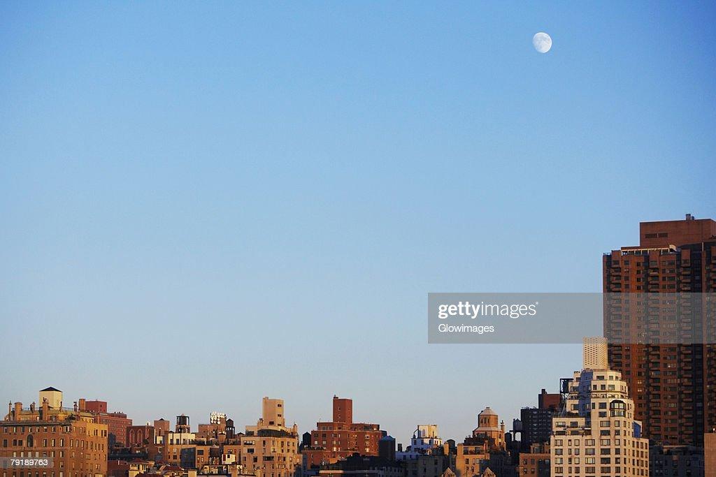 Buildings in a city, Manhattan, New York City, New York State, USA : Foto de stock