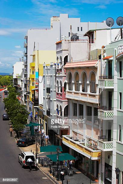 Buildings in a city, Old San Juan, San Juan, Puerto Rico