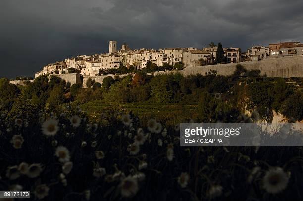Buildings in a city, Saint-Paul-De-Vence, Provence-Alpes-Cote D'azur, France