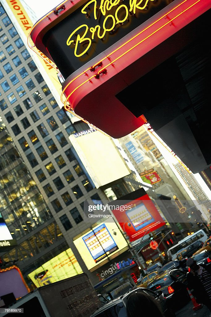 Buildings in a city, Times Square, Manhattan, New York City, New York State, USA : Foto de stock