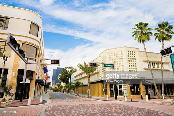 Buildings in a city, West Palm Beach, Florida, USA
