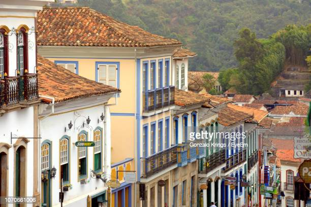 buildings in a town - krings stock pictures, royalty-free photos & images