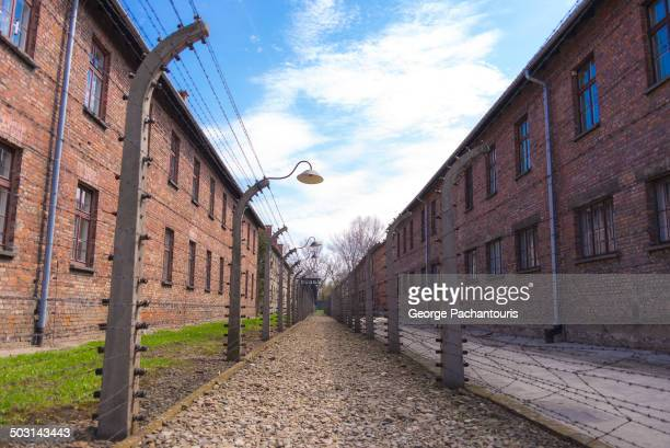 CONTENT] Buildings in AuschwitzBirkenau concentration camp