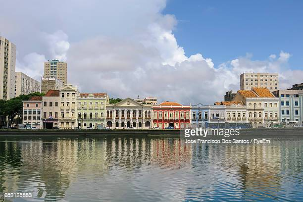 buildings in city against sky - recife stock pictures, royalty-free photos & images