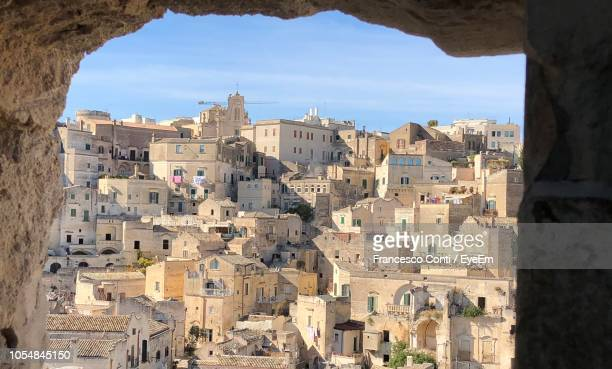 buildings in city - basilicata region stock pictures, royalty-free photos & images