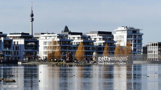buildings in city - dortmund city stock pictures, royalty-free photos & images
