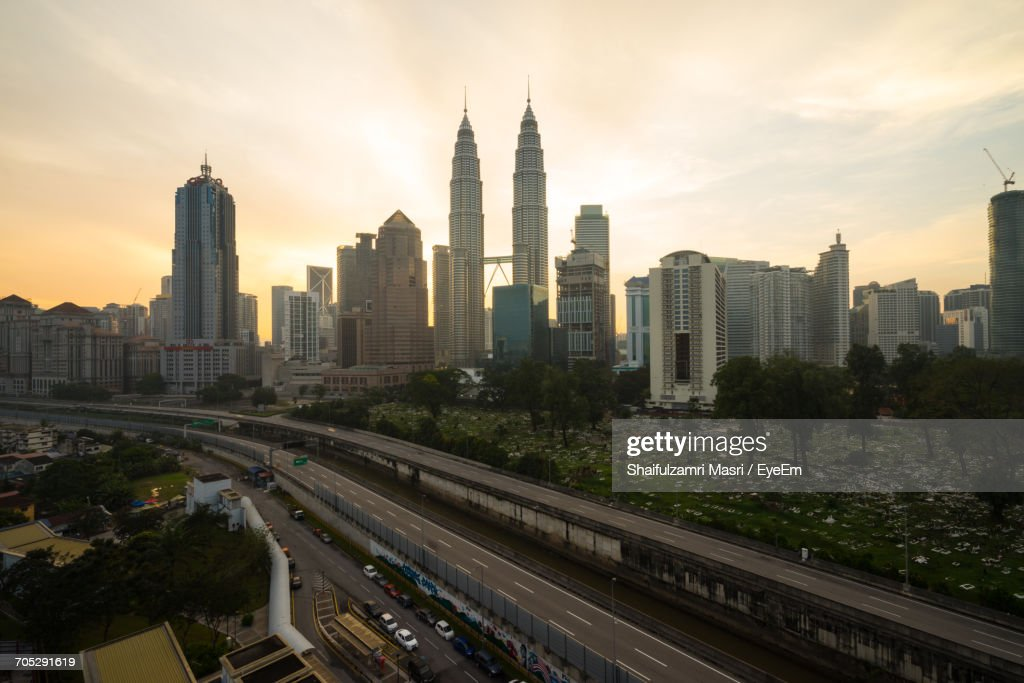 Buildings In City : Stock Photo