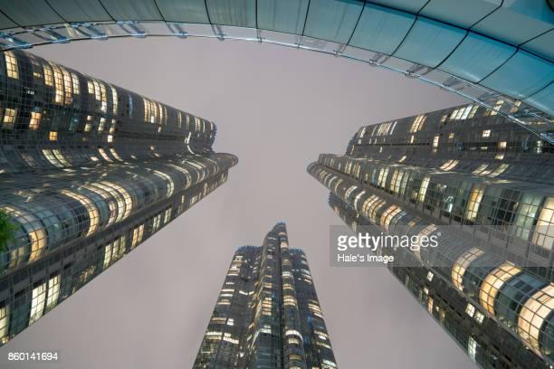 Buildings in Haeundae, Busan, South Korea