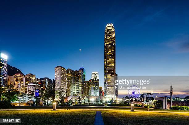 Buildings in Hong Kong city