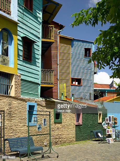 Buildings in La Boca, Buenos Aires, Argentina