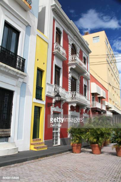 Buildings in Old San Juan, Puerto Rico
