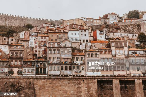 buildings in oporto,portugal - history stock pictures, royalty-free photos & images