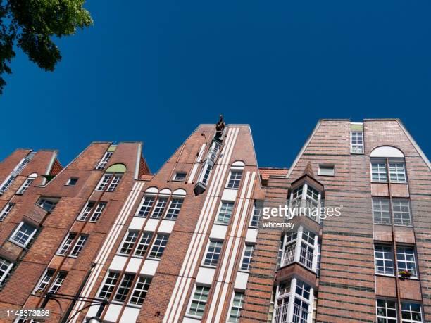 edifícios em rostock, alemanha - rostock - fotografias e filmes do acervo