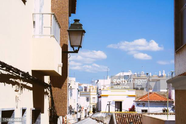 buildings in small village of the algarve - faro district portugal stock pictures, royalty-free photos & images