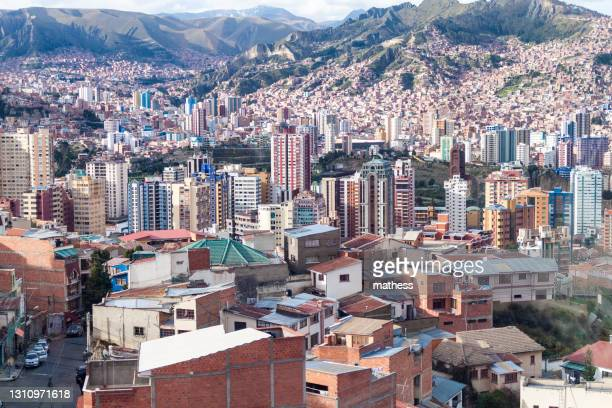 buildings center la paz bolivia