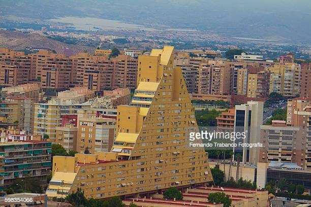 Buildings in the city of Alicante