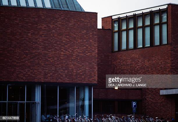 Buildings in the Jyvaskyla University 19531957 designed by Alvar Aalto Finland 20th century