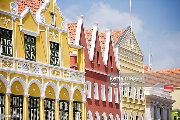 Buildings in Willemstad, Curacao, Antilles