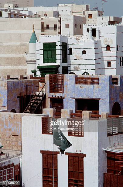 buildings of al-balad, jedda - jeddah stock pictures, royalty-free photos & images