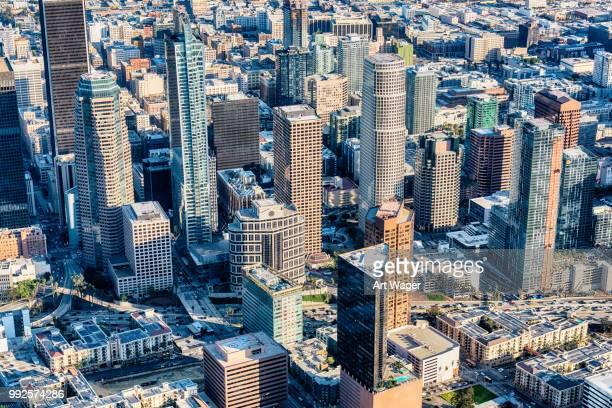 Buildings of Downtown Los Angeles California