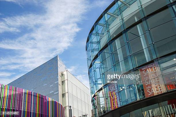Buildings of Liverpool One shopping center