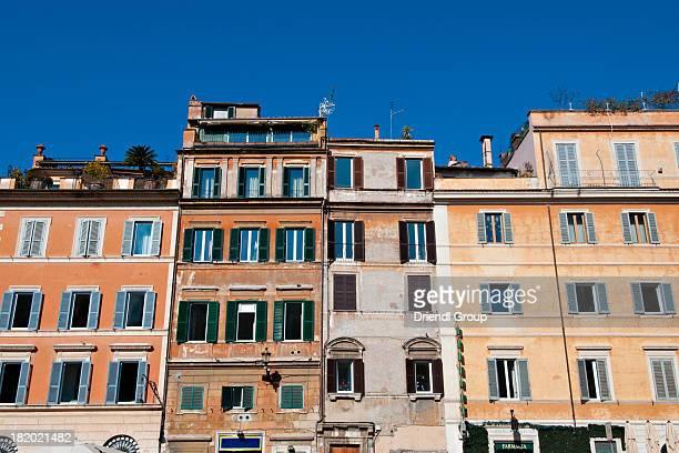 Buildings on Piazza Santa Maria in Trastevere