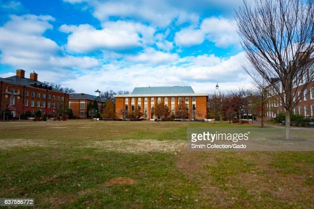 Buildings on the campus of the Johns Hopkins University in Baltimore Maryland December 7 2016