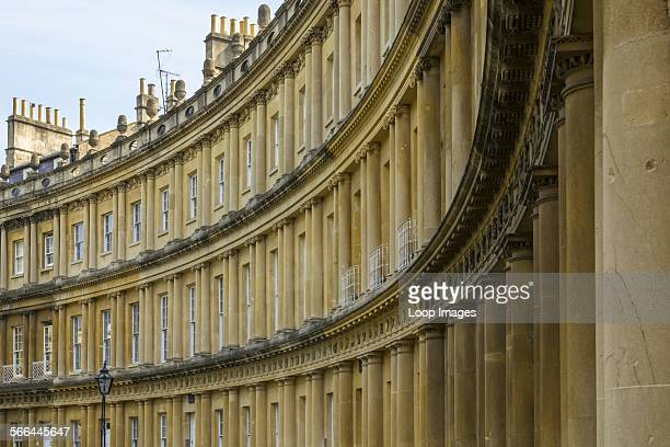 Buildings on the Circus in Bath