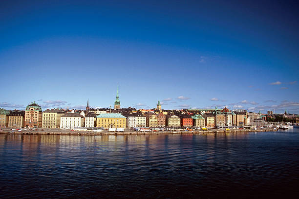 Buildings on the waterfront, Gamla Stan, Stockholm, Sweden