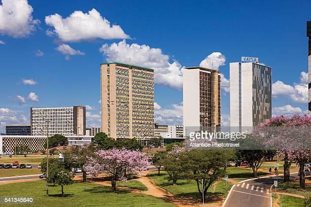 buildings - brasilia photos et images de collection