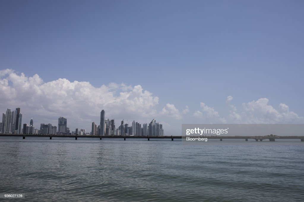 Views Of Panama's Commerce Hub As GDP Figures Released