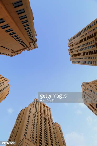 JBR Buildings Top View