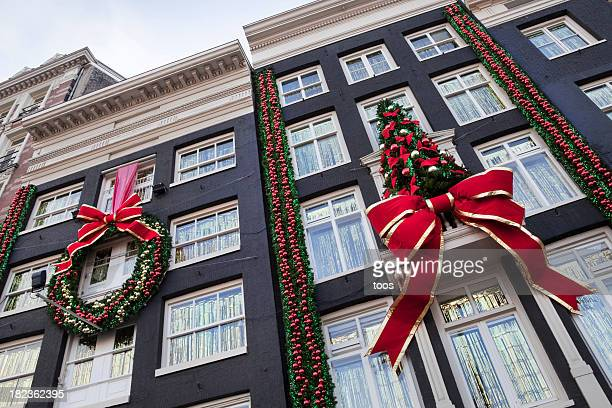 Buildings with Christmas decoration (XXL)