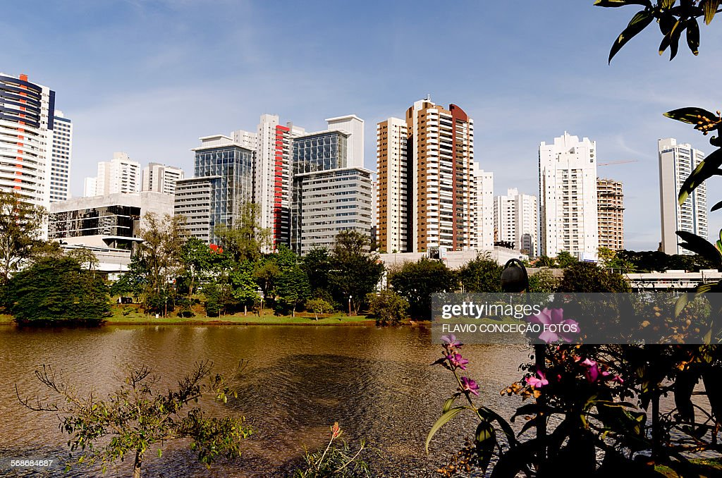 Buildings with modern architecture. : Stock Photo