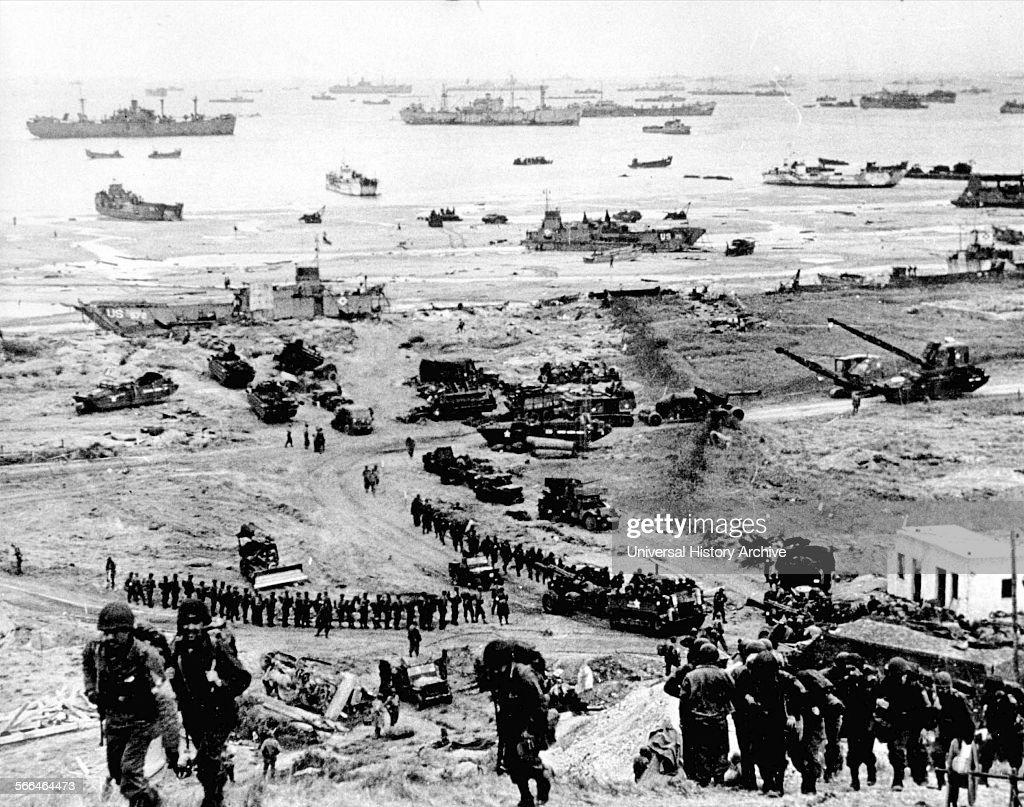 D-Day landings. : News Photo