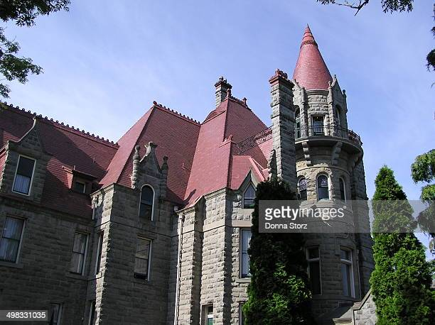 CONTENT] Built by American architect H H Richardson in the Romanesque style for Robert Dunsmuir a ScottishCanadian coal miner railway developer...