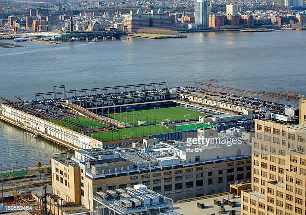 Built by filling in several piers in 1963, Pier 40 was one of the last attempts by the City of New York to reinvest and retain some of the commercial...