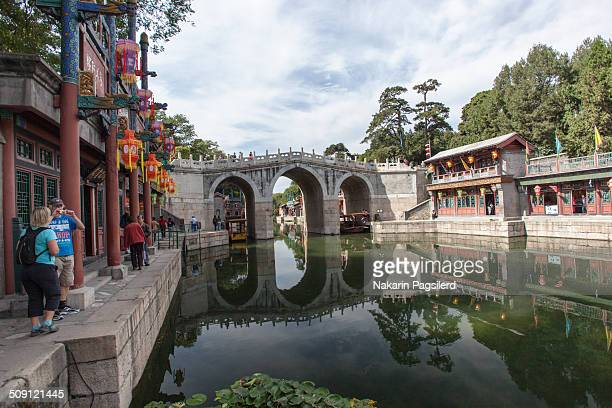 Built during the reign of Qianlong , it was burned down by Anglo-French allied force in 1860. Until 1986, it was rebuilt and in 1990 it was opened to...