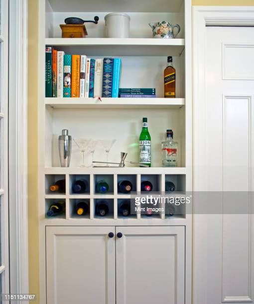 Liquor Cabinet Stock Pictures Royalty