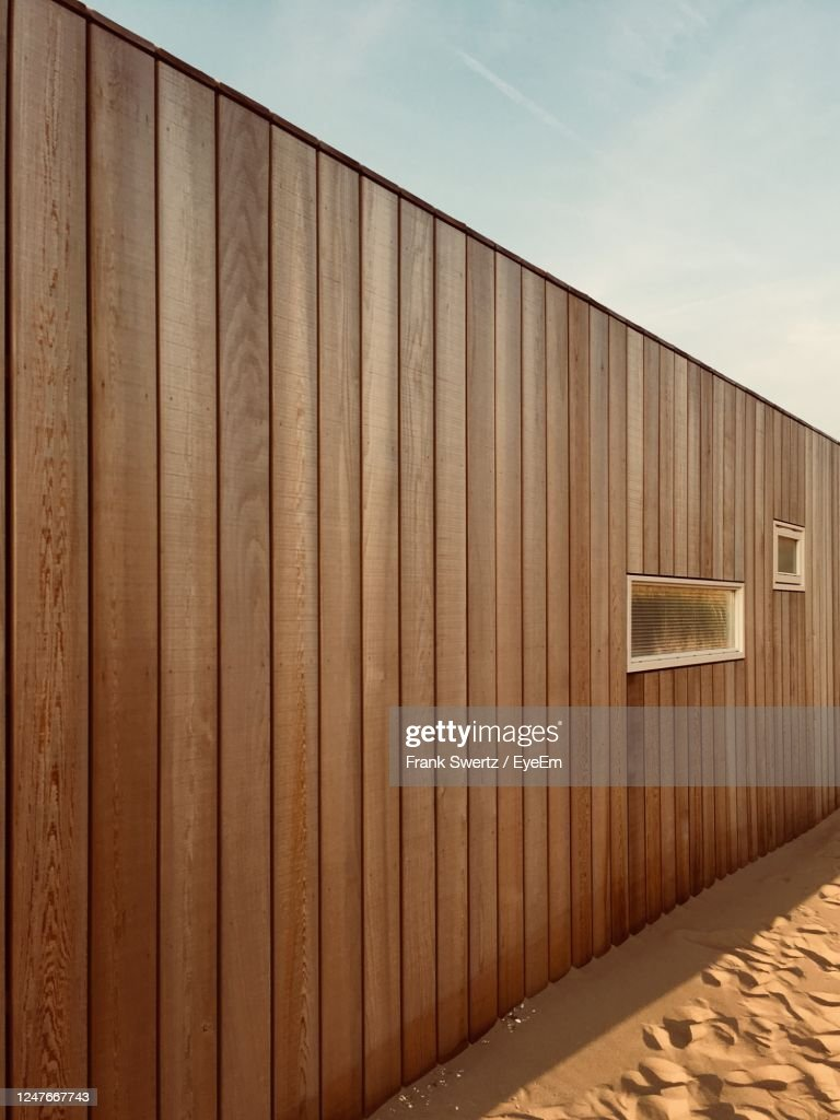 Built Structure Against Wall : Stock-Foto