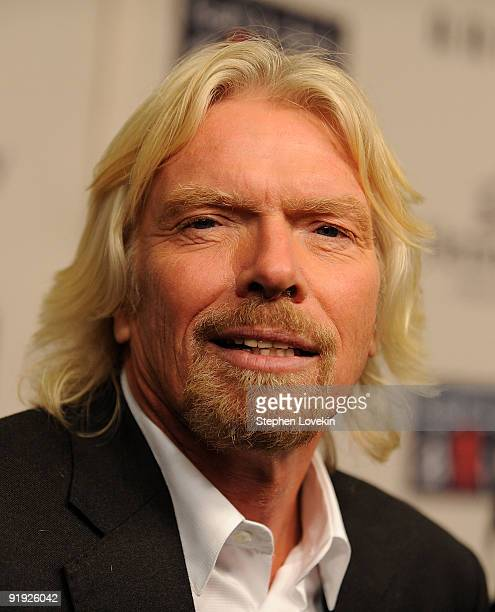 Buisness mogul Richard Branson attends Keep A Child Alive�s 6th Annual Black Ball at Hammerstein Ballroom on October 15 2009 in New York City