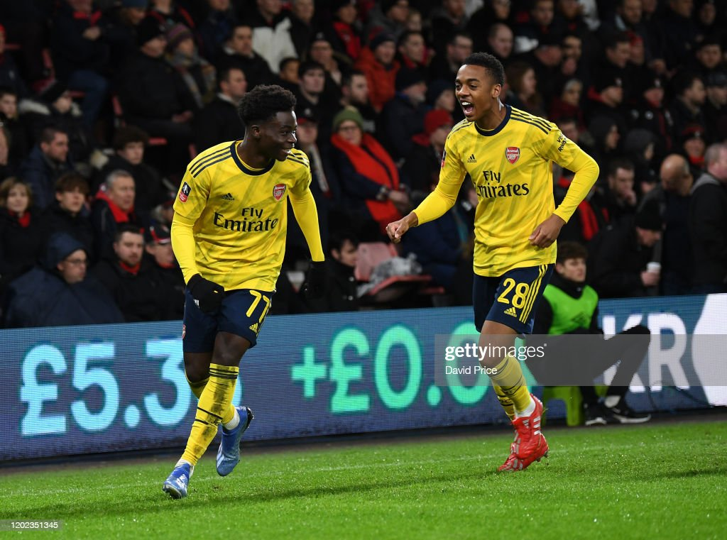 AFC Bournemouth v Arsenal FC - FA Cup Fourth Round : ニュース写真