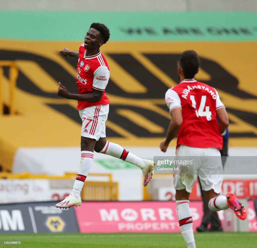 Wolverhampton Wanderers v Arsenal FC - Premier League : ニュース写真