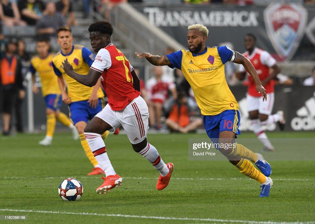 Arsenal v Colorado Rapids : ニュース写真