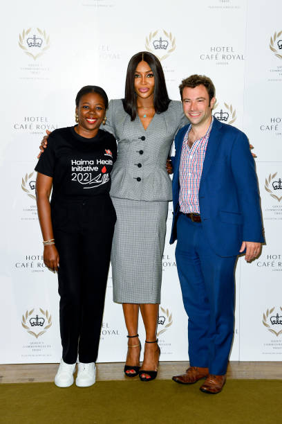 GBR: Naomi Campbell Announced Global Ambassador As Queen's Commonwealth Trust - Press Conference