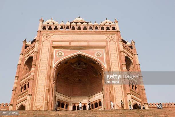 buland darwaza - fatehpur sikri stock pictures, royalty-free photos & images