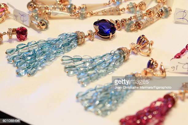 Bulgari jewelry is photographed for Le Figaro on March 2 2016 in Rome Italy PUBLISHED IMAGE CREDIT MUST READ JeanChristophe...