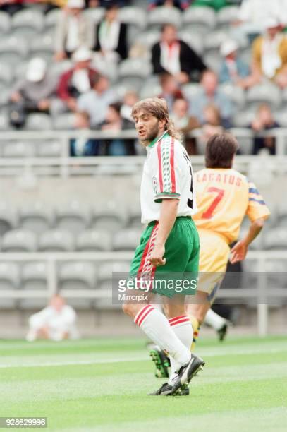 Bulgaria 10 Romania Euro 1996 Group B match at St James Park Newcastle Thursday 13th June 1996 Trifon Ivanov