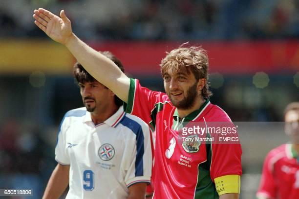 Bulgaria captain Trifon Ivanov